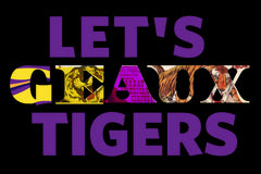 Let's Geaux Tigers!