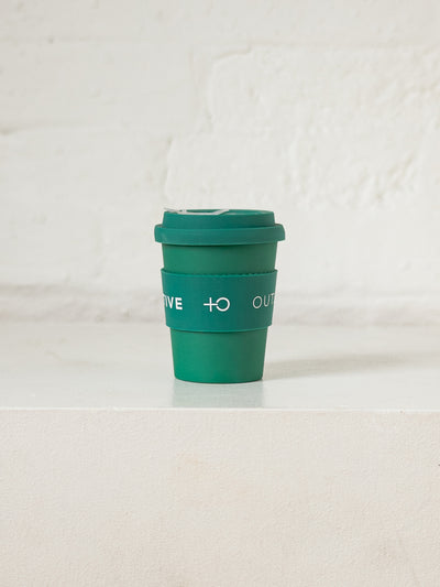 Reusable Coffee Cup - PositiveOutlook