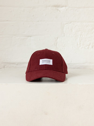 Hemp 6-Panel Cap - PositiveOutlook