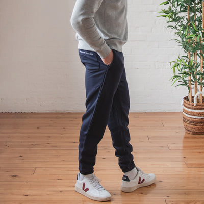 Bamboo Sweatpants - Navy - PositiveOutlook
