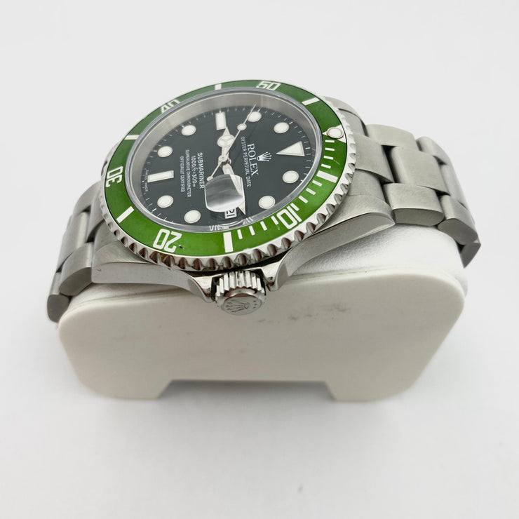 Pre-Owned Rolex Submariner Green Kermit 50th Anniversary Edition 16610T 2005