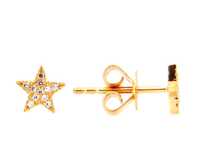 Mark Areias Jewelers Jewellery & Watches Diamond Star Stud Earring .05CTW