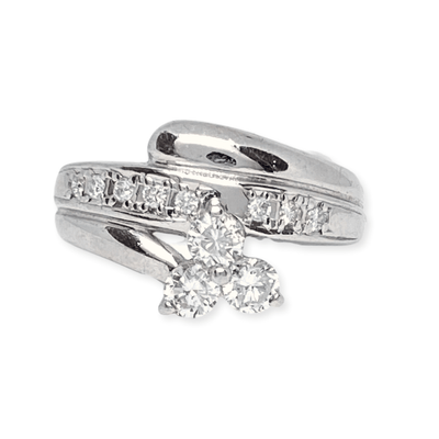 Mark Areias Jewelers Jewellery & Watches Lady's Diamond Fashion Shooting Star Right Hand Ring .48ctw Platinum