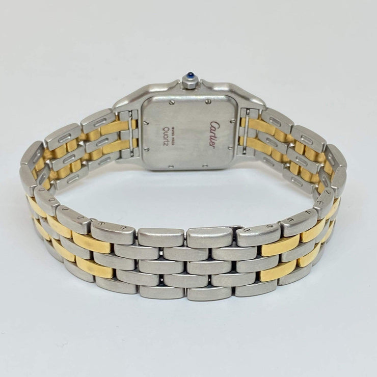 Mark Areias Jewelers Jewellery & Watches Pre-Owned Cartier Large Panthere Watch Stainless Steel & 18KY Quartz, Date, 27mm