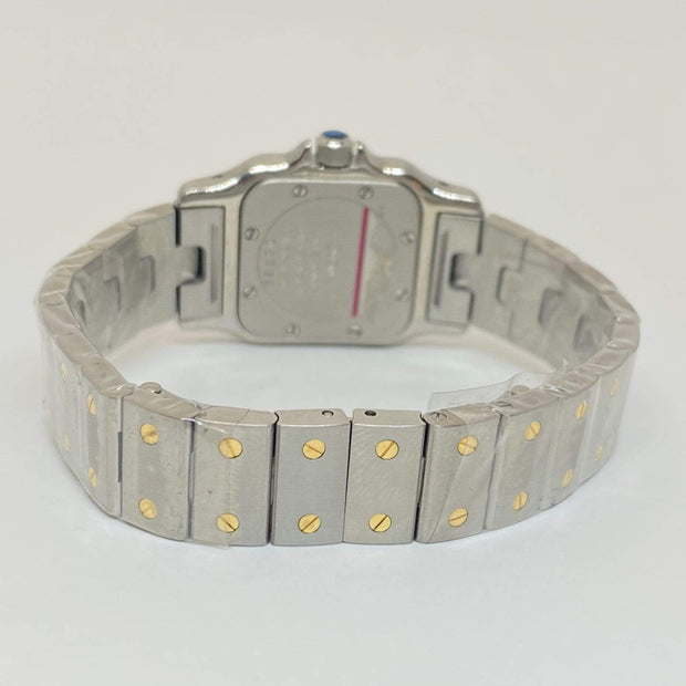 Mark Areias Jewelers Jewellery & Watches Pre-Owned Cartier Small Lady's Santos Galbee Steel & 18K Yellow Gold Quartz 26mm