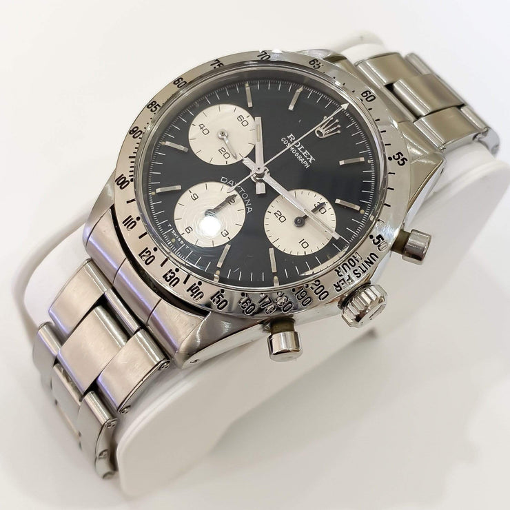 Mark Areias Jewelers Jewellery & Watches Pre-Owned Rare Collectible Paul Newman Rolex Daytona Steel Black Dial 6262 1970