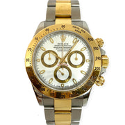 Pre-Owned Men's Rolex Daytona Cosmograph Steel & 18KY 116523 2004