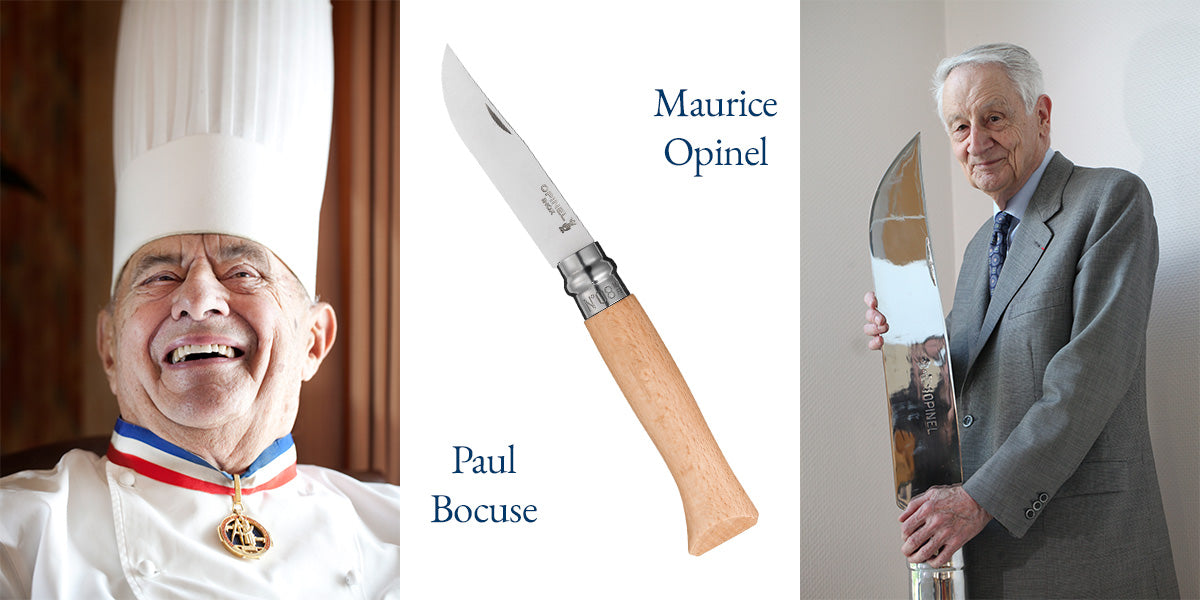 Image of Paul Bocuse and Maurice Opinel