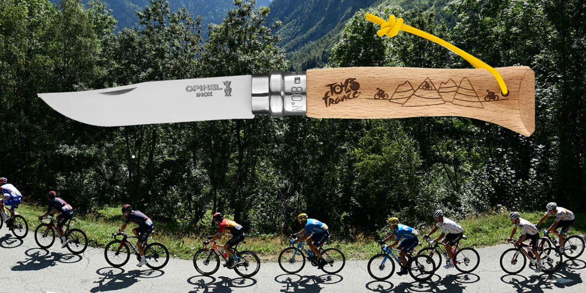 Opinel and Tour de France collaboration image