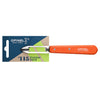Essential Stationary Peeler - Individual Orange Small Kitchen Knife