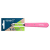 Essential Stationary Peeler - Individual Pink Small Kitchen Knife