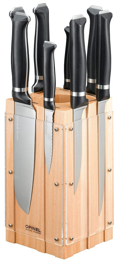 Opinel Kitchen knives block