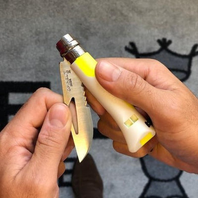 Opinel No8 Outdoor - FLUO Series