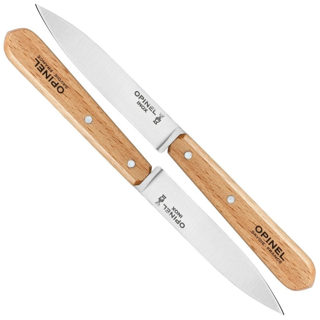 Opinel Paring Knives No112 (Box Of 2) Small Kitchen Knife