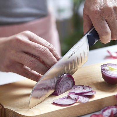 Opinel Intempora Full Tang Santoku Knife Large Kitchen