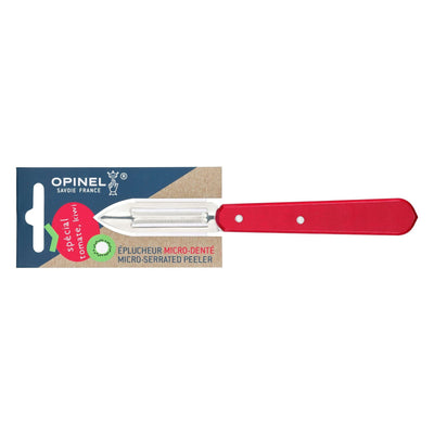 Opinel Serrated Peeler Red Small Kitchen Knife