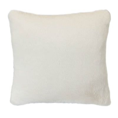 Faux Rabbit Fur Pillow
