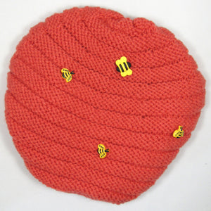 Beehive Knit Hat