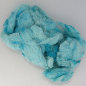 Dyed & UnCombed Wool
