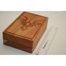 Load image into Gallery viewer, Cherry Wood Dragon Box