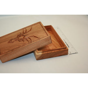 Cherry Wood Dragon Box