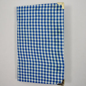 Blue Gingham Junk Journal