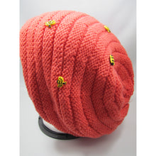 Load image into Gallery viewer, Beehive Knit Hat