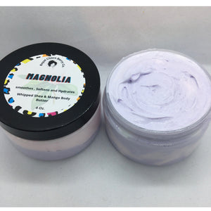 Magnolia Whipped Body Butter 4oz