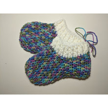Load image into Gallery viewer, Crochet Slippers - Medium 8""