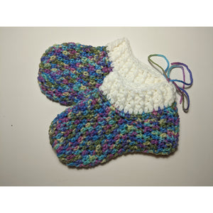 Crochet Slippers - Medium 8""