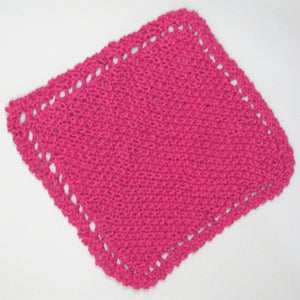 Handknit Cotton Cloths