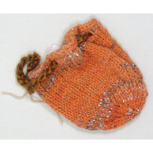 Knit Sachets with Pull
