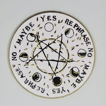 Load image into Gallery viewer, Pentacle Moon Phase Pendulum/Spirit Board