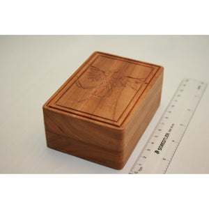 Cherry Wood Phoenix Box