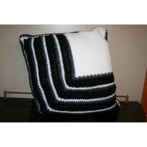 Reversible Crochet Pillows