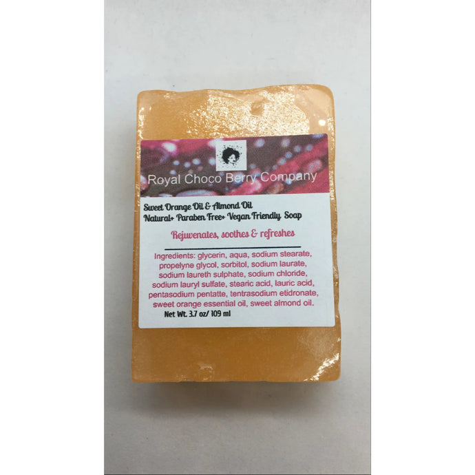 Sweet Orange and Almond Oil Bar Soap