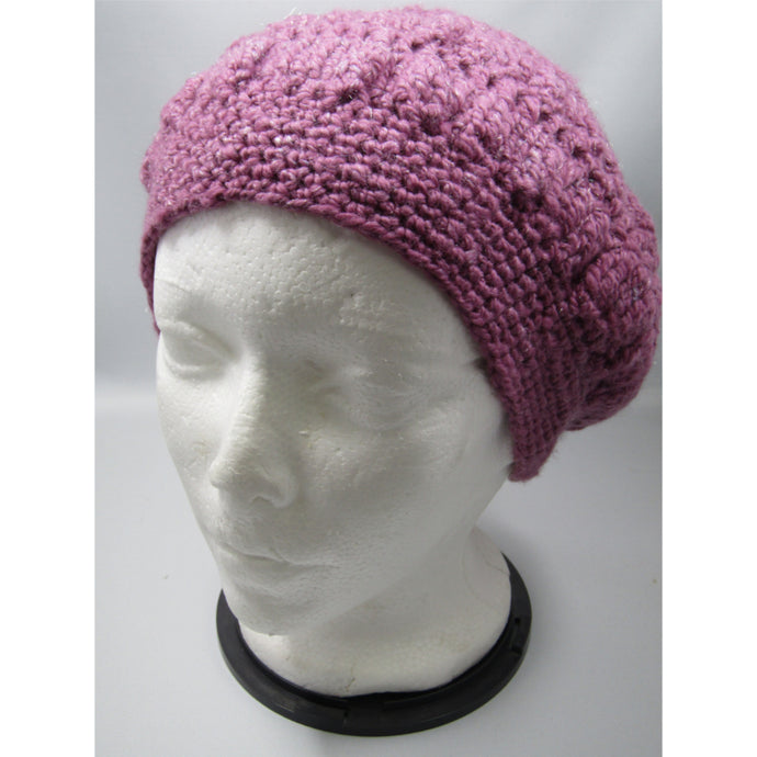 Rose Crochet Floppie Hat