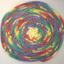 Load image into Gallery viewer, Round Crochet Cloth