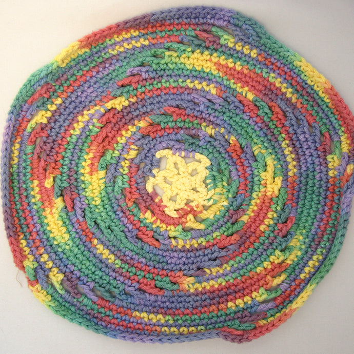 Round Crochet Cloth