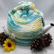 Load image into Gallery viewer, Knitted Teapot Cozie