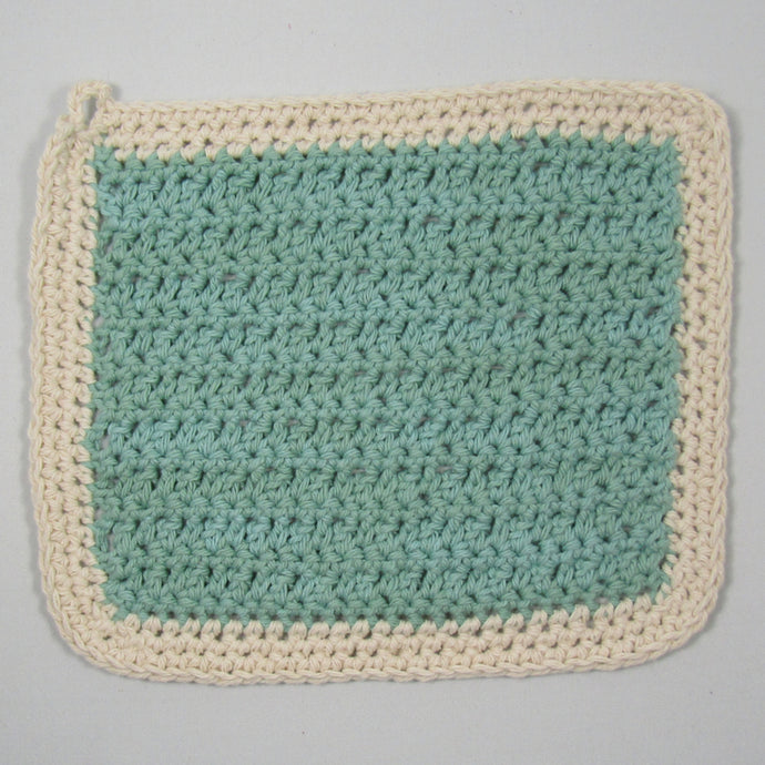 Rustic Crochet Cotton Cloths