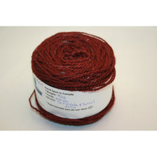 Load image into Gallery viewer, Wine Handspun Wool