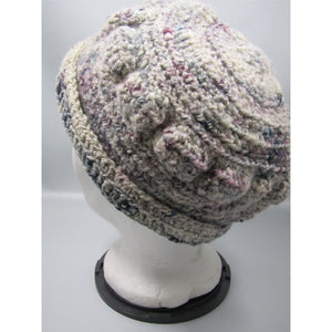 Winter Berries Crochet Hat