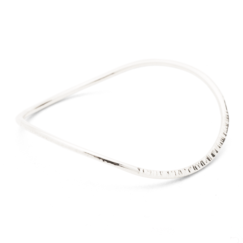 """Infinity"" Bangle Slim (Sterling Silver)"