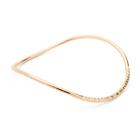 """Infinity"" Slim Bangle (14K Gold-Filled)"