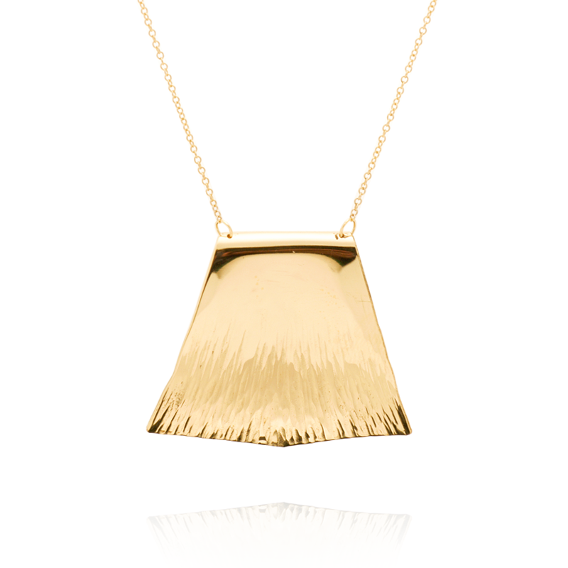 """Courage"" Necklace (14K Gold-Filled)"