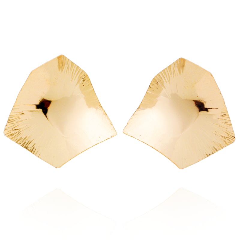 """Courage"" Large Studs (14K Gold-Filled)"