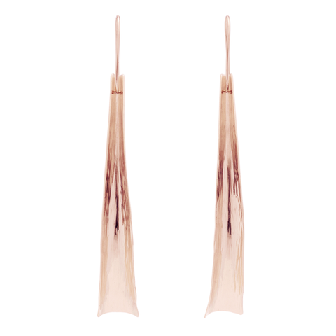 """Flow"" Earrings (14K Rose Gold-Filled)"