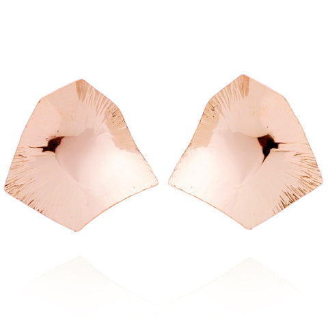 """Courage"" Large Studs (Rose Gold-Filled)"