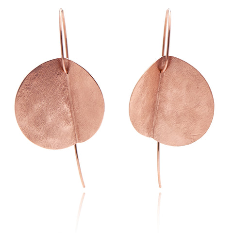 """Eucalyptus"" Earrings - Rose Gold-Fill"